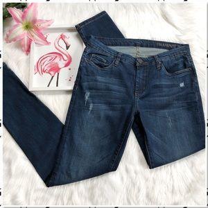 BlankNYC Super Skinny Distressed Stretch Jeans 30